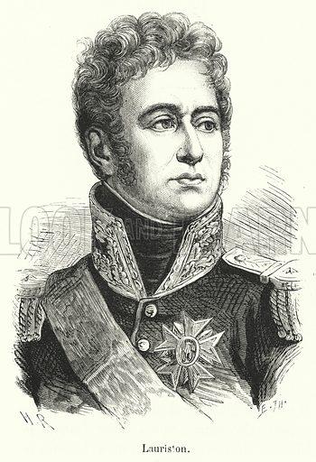 Lauriston. Illustration for Histoire de France Populaire by Henri Martin (Furne, Jouvet, c 1880).