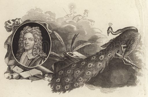 Thomas Pelham-Holles, 1st Duke of Newcastle (1693–1768), British Whig politician and Prime Minister. Illustration from Memoires of the Last Ten Years of the Reign of King George the Second, Volume II, by Horace Walpole, Earl of Orford (John Murray, London, 1822).
