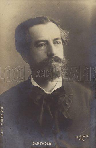 Bartholdi.  Postcard, early 20th century.