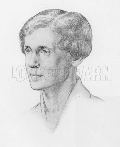 Portrait of Rose Macaulay, English novelist, essayist and poet.
