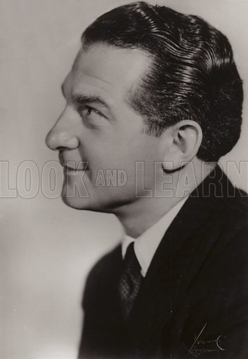 Donald Peers (1908-1973). English singer and entertainer.