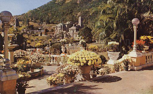 Looking West from garden, Repulse Bay Hotel, Hong Kong, 1959.