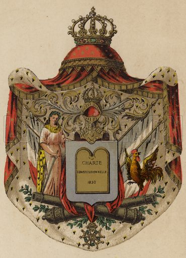 Arms of France, 1830 to 1848.