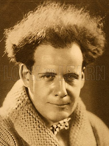 Sergei Eisenstein (1898-1948), Soviet Russian film director, 1928.