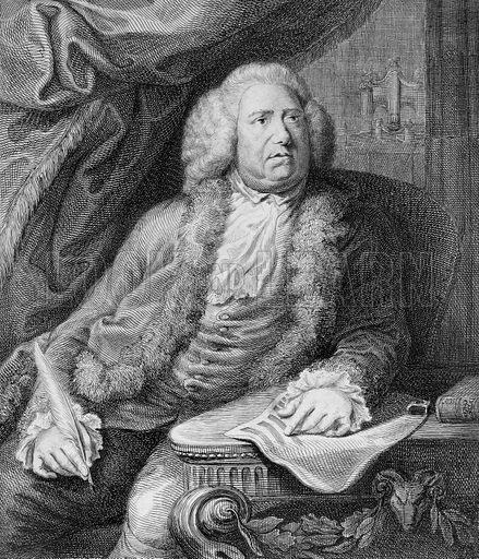 William Boyce (1711-1779), English composer and Master of the King's Music.