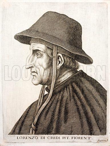 Lorenzo di Credi (1459-1537) Italian Renaissance painter.