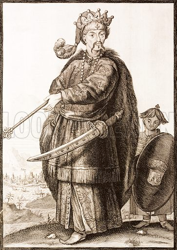 A King of Siam, 17th Century.
