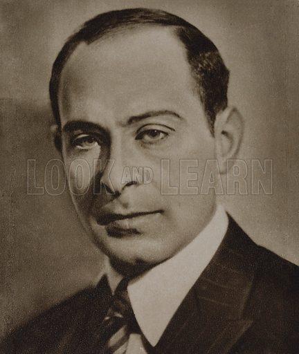 Jozef Wittlin (1896-1976) Polish novelist and poet.