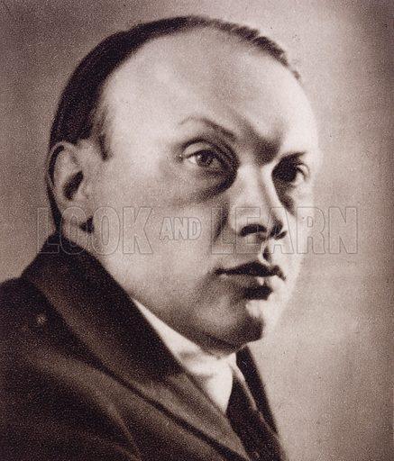 Jan Parandowski (1895-1978), Polish author.