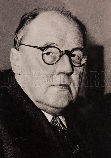 Waclaw Sierpinski (1882-1969), Polish mathematician.