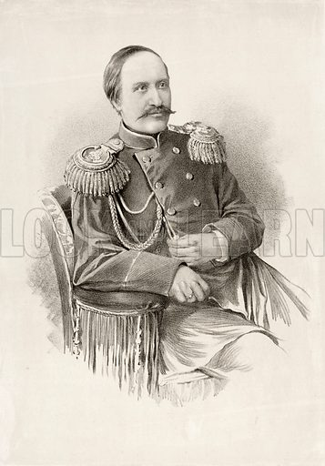 Count Nikolai Ignatiev (1832-1908), Russian soldier politician and diplomat.