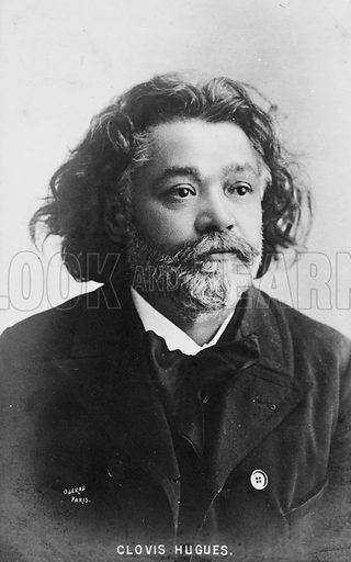 Clovis Hugues (1851–1907), French writer and socialist political activist.