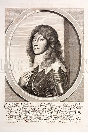 Prince Rupert of the Rhine (1619–1682), German soldier who fought on the Royalist side in the English Civil War.