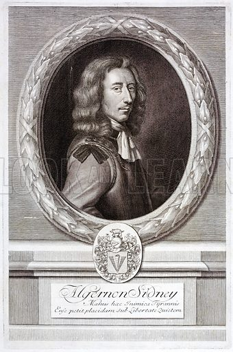 Algernon Sidney (1623-1683), English republican political theorist and soldier.