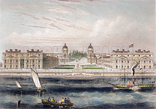 Greenwich Hospital, London.
