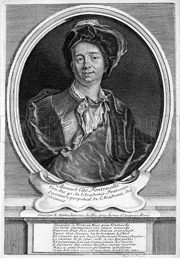 Bernard Le Bovier de Fontenelle (1657-1757), French author.