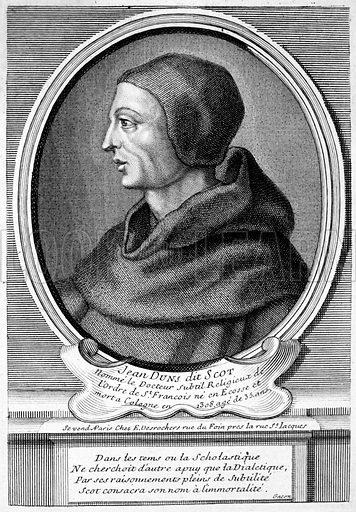 John Duns (Duns Scotus) (c1266-1308), Scottish Catholic priest, philosopher and theologian.
