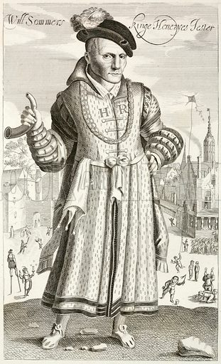 Will Sommers, court jester of King Henry VIII.