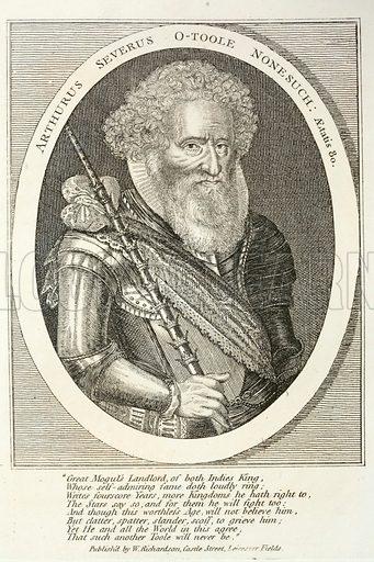 Arthur O'Toole, 16th Century Irish soldier of fortune.