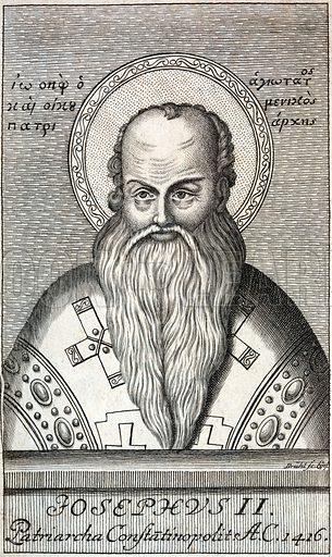 Joseph II (1360-1439), Patriarch of Constantinople.