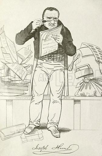 Joseph Hume (1777–1855), Scottish doctor, politician and Radical MP.