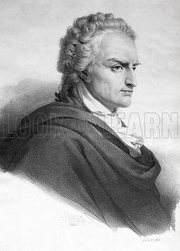 Vittorio Alfieri (1749-1803), Italian playwright and poet.