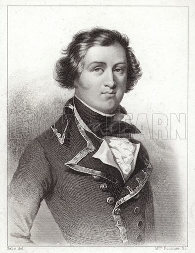 Louis Philippe of Orleans, Duke of Chartres (1773-1850), later King Louis Philippe I of France.