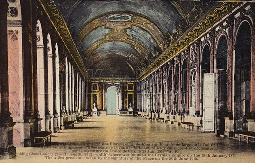 The Hall Of Mirrors Palace Of Versailles Look And Learn History