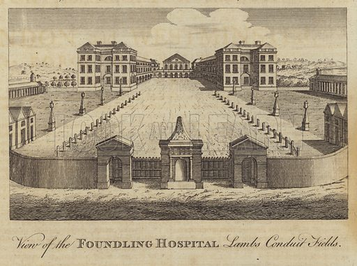 London foundling hospital pity, that