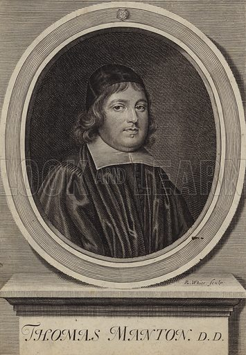 Thomas Manton (1620-1677), English Puritan clergyman.