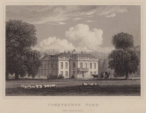 Cokethorpe Park, Hardwick, Oxfordshire.