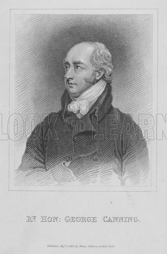 George Canning (1770-1827), English Tory politician and Prime Minister.