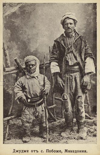 Dwarf from Pobozje, Macedonia.