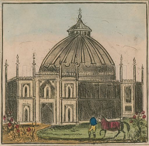 General view of the Brighton Dome, part of the Royal Pavilion Estate, in Brighton, East Sussex.
