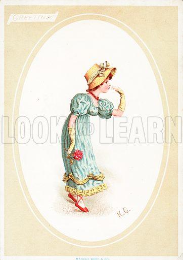 Kate Greenaway, picture, image, illustration