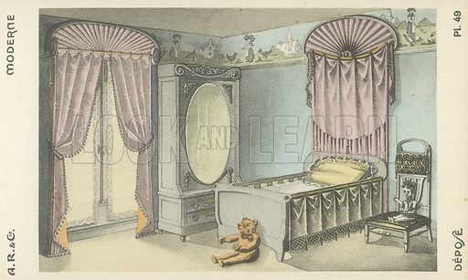 Illustration from interior design product catalogue from AR & Cie, France