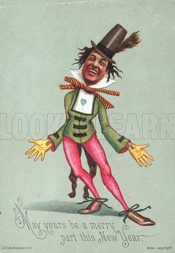 Dandy Man, New Year Card