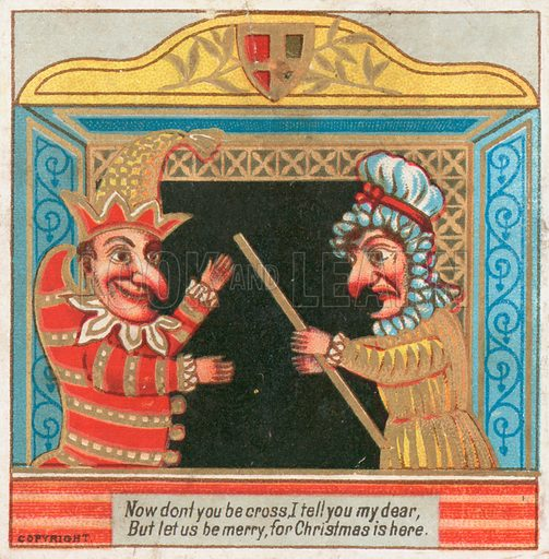 Punch and Judy, Christmas Card.