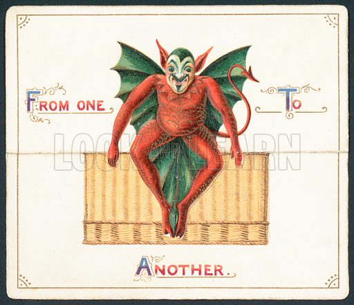 Red Devil, Christmas Card