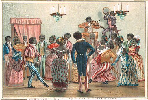 Christmas Party (Deep South), Christmas Card.