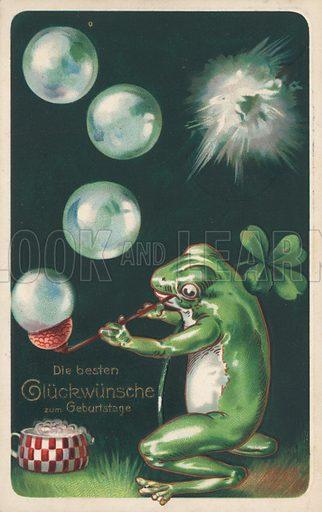 German birthday card