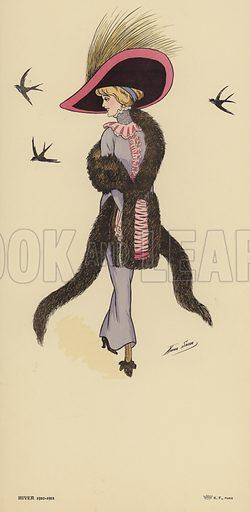 Winter 1910–1911 fashions