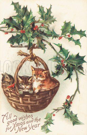 British Christmas card
