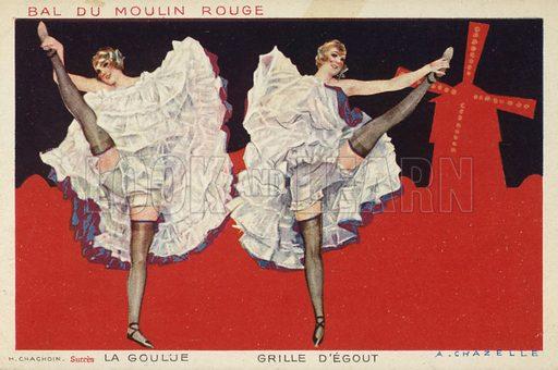 Bal Du Moulin Rouge.