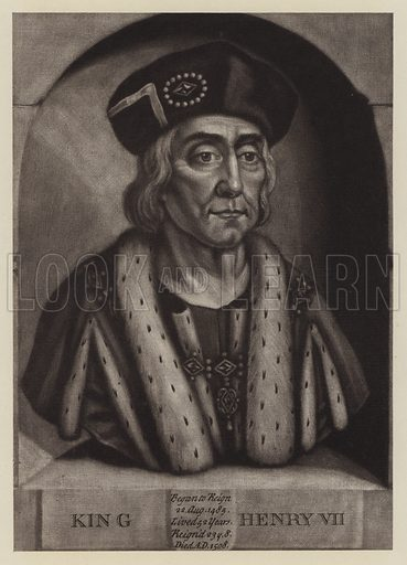 King Henry VII(1457–1509).