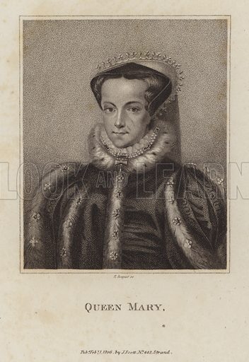 Queen Mary I (1516-1558).