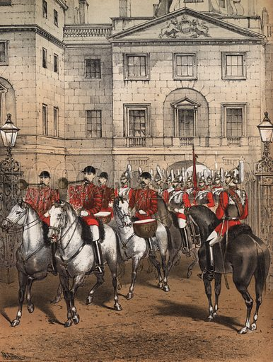 The Royal Horse Guards Band March. Music cover.