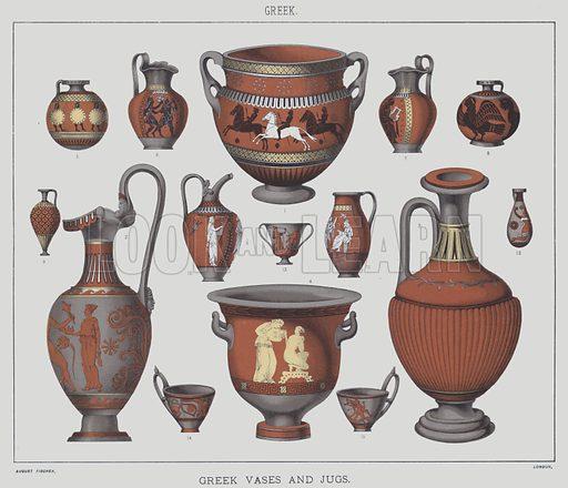 Greek, Greek vases and jugs