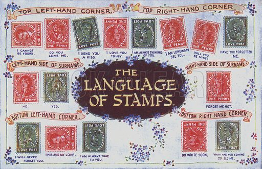 The language of stamps