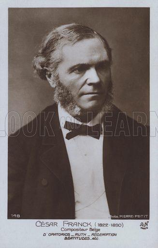 Cesar Franck (1822–1890), Belgian composer and pianist.